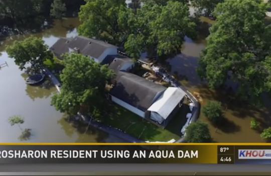Por ordem de Deus, americano instala barragem e tem sua casa poupada de inundação